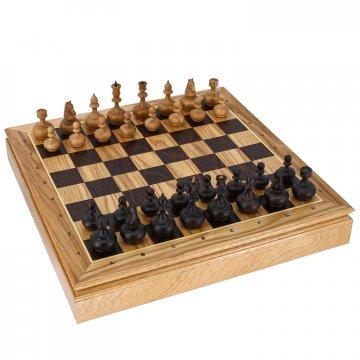Шахматы Стародворянские (дуб)