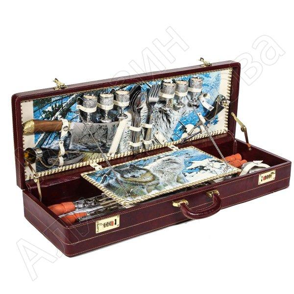 """Шашлычный набор в подарочном дипломате (серия """"Элит"""")"""