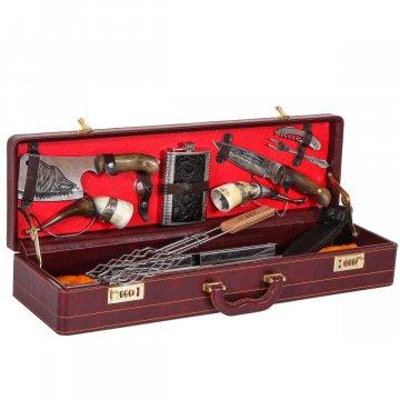 Кизлярский шашлычный набор в подарочном дипломате