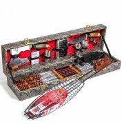 Кизлярский шашлычный набор в подарочном кейсе большой арт.6737