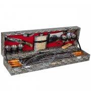 Кизлярский шашлычный набор в подарочном кейсе большой арт.6745