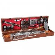 Кизлярский шашлычный набор в подарочном кейсе арт.11585