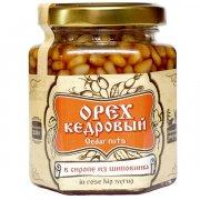 Натуральный сироп из шиповника с кедровым орехом арт.10193