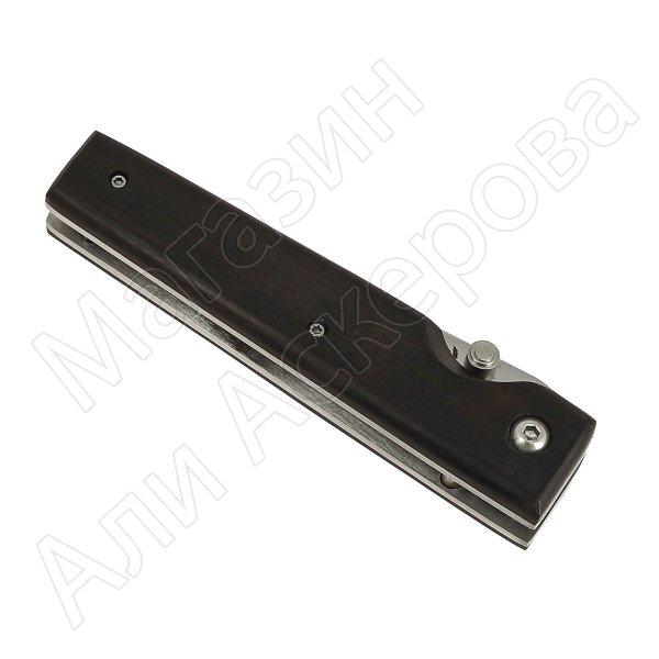 Складной нож Танто (сталь AUS-8, рукоять черный граб)