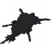 Чистопородная каракулевая шкурка цвет черный