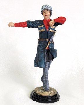 """Подарочная статуэтка ручной работы """"Асса"""" (обожженная глина)"""