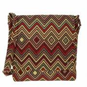 Сумка в этно стиле из ткани ручной работы арт.11242