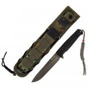 Тактический нож Alpha Kizlyar Supreme (сталь AUS-8 GT, рукоять кратон) арт.4749