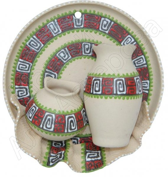 Кавказские сувенирные тарелочки