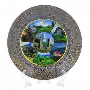 Сувенирная тарелочка Ингушетия