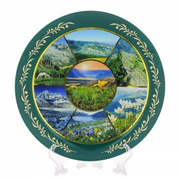 Сувенирная тарелочка Дагестан