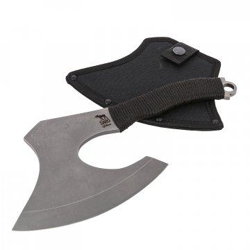 Топорик Гусь (сталь 65Х13, рукоять шнур-намотка)