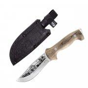 """Кизлярский нож туристический """"Дрофа"""" (сталь - AUS-8, рукоять - дерево)"""
