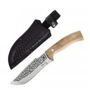 """Кизлярский нож туристический """"Бекас-2"""" (сталь - AUS-8, рукоять - дерево) арт.4097"""