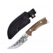 """Кизлярский нож разделочный """"Гюрза-2"""" (сталь - AUS-8, рукоять - дерево) арт.4101"""