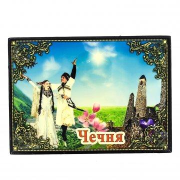 """Подарочная шкатулка """"Чечня"""" (средняя)"""