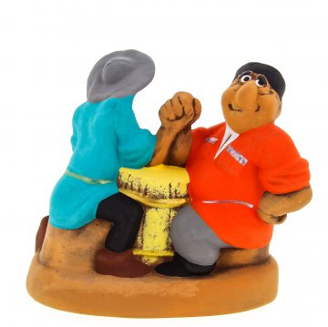 """Подарочная статуэтка """"Горец и шашлычник"""""""