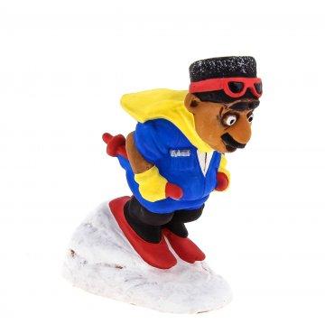 """Подарочная статуэтка """"Горец лыжник"""""""