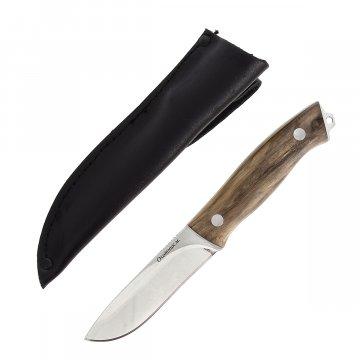 Кизлярский нож разделочный Охотник-м (сталь AUS-8, рукоять дерево)