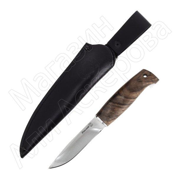Нож Финский Кизляр (сталь AUS-8, рукоять дерево)
