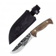 """Кизлярский нож разделочный """"Фазан"""" (сталь - AUS-8, рукоять - дерево, худ. оформ) арт.4123"""