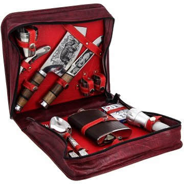 Кизлярский туристический набор для пикника в подарочном футляре №2