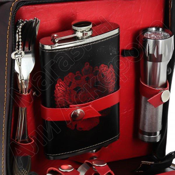 Кизлярский туристический набор для пикника в подарочном футляре №1
