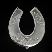 Кубачинская серебряная подкова ручной работы большая арт.2651