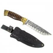 "Кизлярский нож туристический ""Беркут"" (сталь - 65Х13, рукоять - дерево) арт.2805"