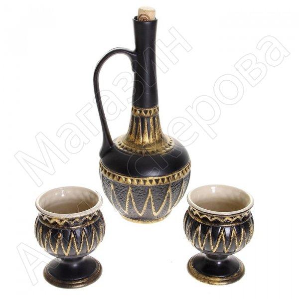 """Керамический набор для вина """"Дагестан"""""""