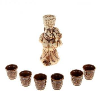 """Керамический набор для вина """"Чабан"""""""
