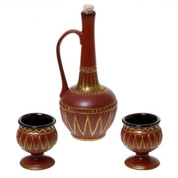 """Керамический набор для вина """"Армения"""""""