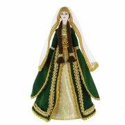 Керамическая кукла в Адыгейском  национальном костюме (большая №2)
