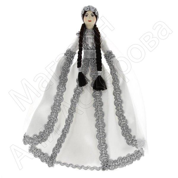 Керамическая кукла в чеченском национальном костюме (большая №4)
