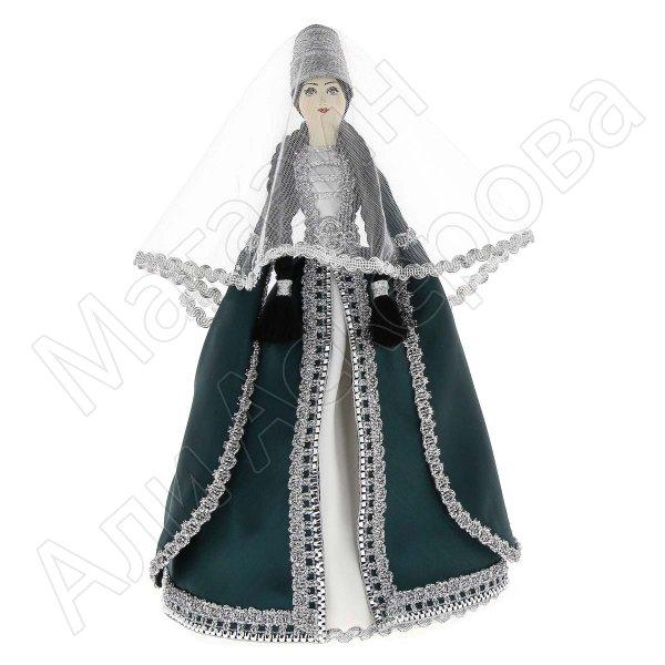 Керамическая кукла в ингушском национальном костюме (большая)