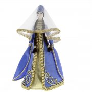 Керамическая кукла в осетинском национальном костюме (большая)