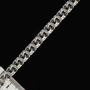 Серебряная цепь Бисмарк 60 см (ширина 0,7 см) арт.2618