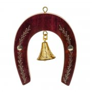 Унцукульская подкова-колокольчик с художественной насечкой арт.8966