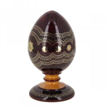 """Унцукульская статуэтка """"Яйцо"""" с художественной насечкой"""