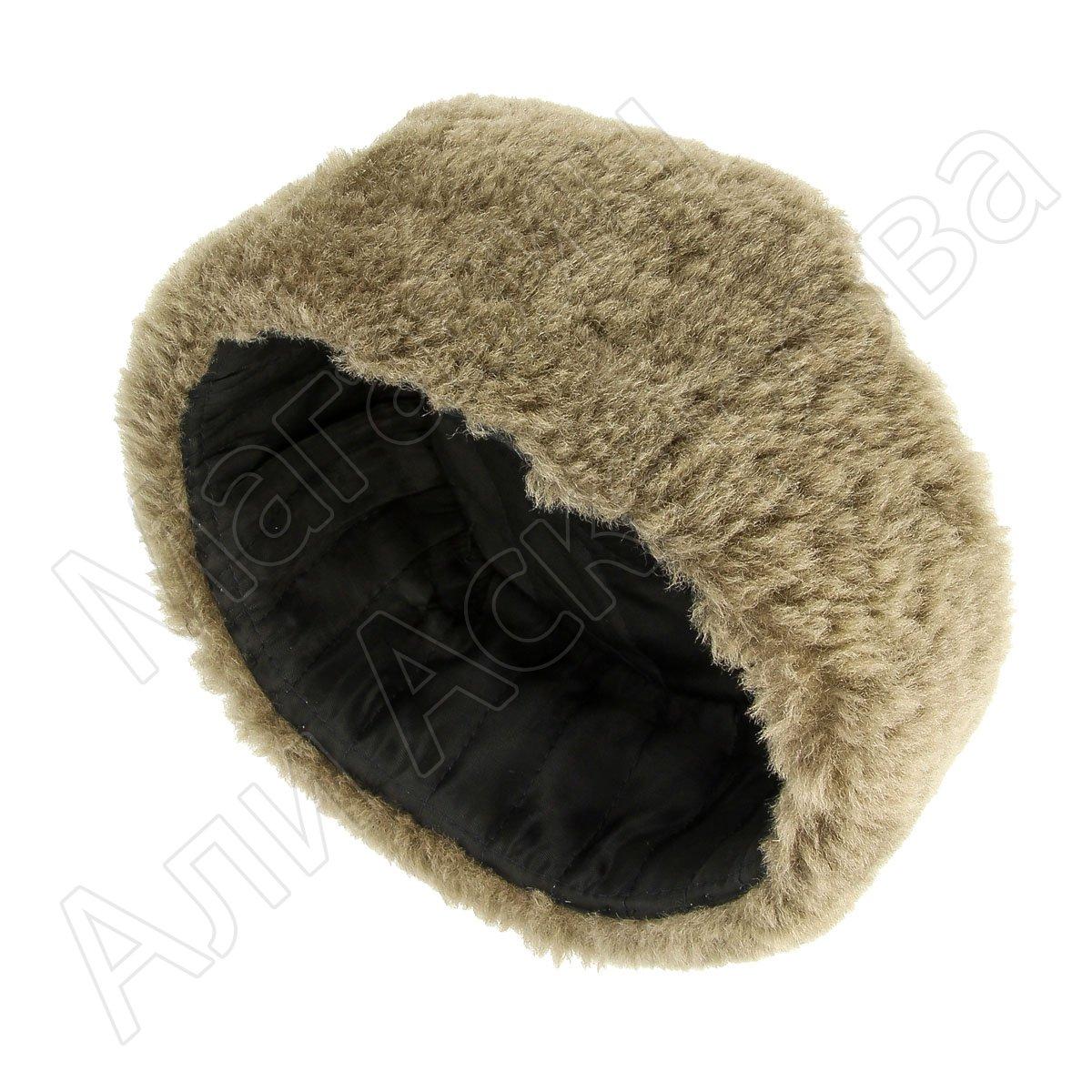 787aa153 Мужская шапка-ушанка из овчины ручной работы арт.7002 с быстрой ...