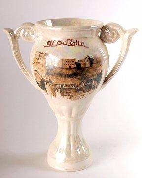"""Глиняная ваза-кубок """"Дербент"""""""